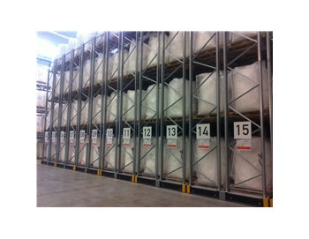 Electrical movable pallet rack for food storage china for Movable pallets