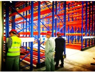 New mobile racking system project completed
