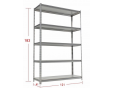 Light duty Boltless Rivet Shelving for storage