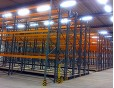 Electrical Movable pallet rack for food storage