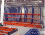 Heavy Duty mobile racking project supplied to Thailand