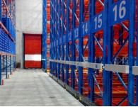 Mobile Heavy Duty pallet rack for freezed warehouse