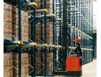 Pallet Mole System for high densed warehouse storage