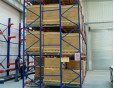 Push Back Pallet Rack for FILO