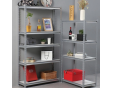 Rivet Metal Shelf for light duty shelving
