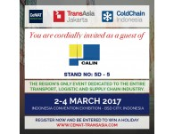 Shanghai Calin will attend Cemat SEA 2017 in Jakarta
