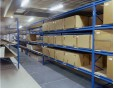 Steel Shelving system for carton storage