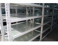 Steel shelves, steel decking, galvanized steel deck