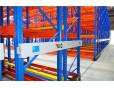 Warehouse movable pallet rack