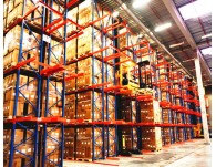 What are the VNA racking requirements on the warehouse floor?